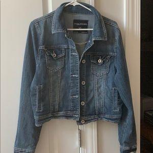 Maurice's Women's XL cropped denim jacket